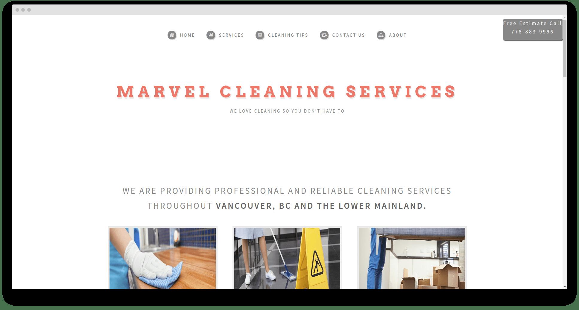 Website design in Langley